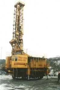 Каркасно-платформенный станок буровой шарошечный СБШ-250 МНА-32 КП